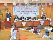رئيس جامعة كفر الشيخ: توفير سبل الرعاية للطلاب القدامى والجدد.. صور