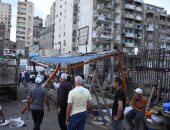 محافظ الإسكندرية يأمر بإزالة منافذ بيع عشوائية بمزلقان سيدى بشر