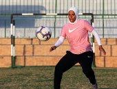 مش بس صلاح.. فايزة حيدر أول مدربة مصرية معتمدة من الاتحاد الإنجليزى.. ألبوم صور