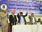 المرشح محمد الحناوي يكثف لقاءاته مع أهالي بدر والنزهة والشروق والرحاب ومدينتي