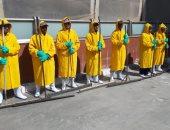 تدريب العاملين بمطار القاهرة على سيناريوهات الطوارئ استعدادا لفصل الشتاء