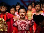 أسبوع الموضة الصينى للأطفال ..ملابس عصرية وقصات جديدة لصيف وخريف2021.. ألبوم صور