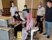 تنفيذ مبادرة رئيس الجمهورية لفحص وعلاج الأمراض المزمنة بمناطق وسط سيناء ..صور