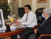وزير التعليم العالى يلتقى علماء مصر باليابان ويدعوهم للمشاركة فى تطوير المناهج