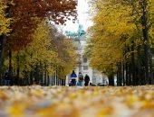 ألمانيا الملونة.. الخريف يزين حدائق واشجار برلين بالألوان الصفراء والحمراء ..ألبوم صور