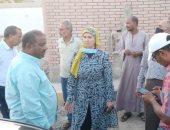 رئيس مدينة سفاجا توجه بإعادة الشيء لأصله عقب استكمال أعمال توصيل شبكات الصرف
