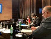 وزير الخارجية يصل موسكو لبحث تطورات الأوضاع في ليبيا وسوريا .. صور