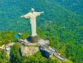 """100 منحوتة عالمية.. المسيح المخلص  """"عملاق"""" فى البرازيل"""