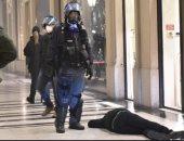 اعتقال 5 من ألتراس يوفنتوس وتورينو وسط أعمال شغب فى إيطاليا.. صور