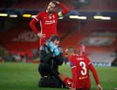 كلوب يكشف حجم إصابة فابينيو فى فوز ليفربول ضد ميتلاند بدورى الأبطال