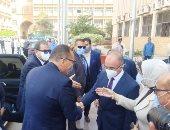 وزير القوى العاملة يصل جامعة الزقازيق لتوقيع بروتوكولات تعاون.. صور