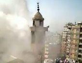 اندلاع حريق هائل بمسجد أثرى فى اسطنبول