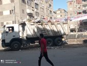 حملات نظافة مستمرة لرفع تراكمات القمامة بمنطقتى سيجر والعجيزى فى طنطا