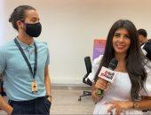 أحمد مالك يكشف لتليفزيون اليوم السابع خوفه من الثعابين في كواليس فيلمه حارس الذهب
