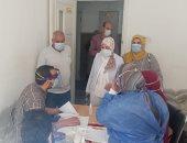 قافلة طيبة لجامعة طنطا توقع الكشف الطبي على 554 من أهالى برما