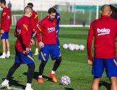 """برشلونة قبل مواجهة يوفنتوس بدروى الأبطال: على أتم الاستعداد """"صور"""""""