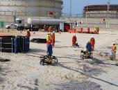 """""""البترول """" تنفذ مناورة لمكافحة التلوث البحرى فى """"ميناء الحمراء"""" بالبحر المتوسط"""