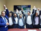 فوز فكرى عبد السلام برئاسة نقابة الصحفيين الفرعية بالإسكندرية.. فيديو وصور