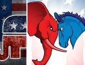 """سر """"حمار"""" الديمقراطيين و""""فيل"""" الجمهوريين فى الانتخابات الأمريكية.. شعارات على مدار أكثر من 150 عاما.. """"الفيل"""" يظهر فى دعاية الجمهورى أبراهام لينكولن.. والديمقراطى يحول الحمار شعارا لحزبه بعد السخرية منه"""