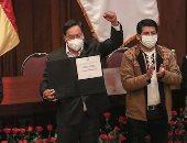 مراسم تنصيب لويس آرسي رئيسا رسميا لبوليفيا.. صور
