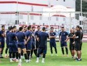 باتشيكو يضع اللمسات النهائية لمواجهة الرجاء المغربي في دورى أبطال أفريقيا.. صور