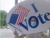 كاتي بيري توثق لحظة تصويتها بالانتخابات الأمريكية بطريقتها الخاصة.. فيديو