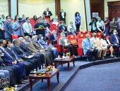 وزير الرياضة يستعرض التجربة المصرية في عودة النشاط بالمؤتمر الدولي الافريقي