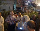 """جهاز """"القاهرة الجديدة""""يقود حملة ليلية لإزالة الإشغالات بالمدينة.. صور"""