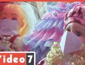 """عروسة المولد بـ""""الكمامة"""" فى زمن الكورونا.. فيديو"""