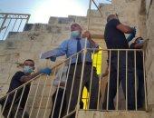قوات الاحتلال الإسرائيلي تعتقل نائب مدير عام أوقاف القدس قرب باب السلسلة