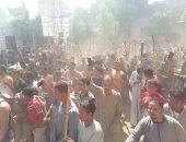 المئات من المسلمين والأقباط يحتفلون بالمولد النبوى فى قنا