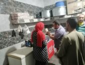 ضبط وإعدام لحوم منتهية الصلاحية وتحرير 23 محضر إشغال بالمنوفية.. صور