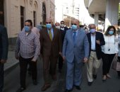 محافظ القاهرة يتفقد أعمال تطوير محيط متحف المركبات الملكية ببولاق أبو العلا