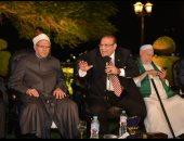 """الليلة.. """"صالون المحور"""" يحتفل بالمولد النبوى بحضور مفتى الديار المصرية وعلى جمعة وحسن راتب"""