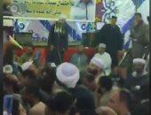 شاهد.. ياسين التهامى يشعل احتفال المولد النبوى فى الأقصر