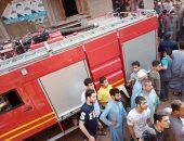 انتداب المعمل الجنائى لمعاينة حريق شقة سكنية بالمرج