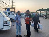 نائب رئيس مدينة طلخا يتفقد الموقف العمومي ويوجه برفع القمامة بالمنطقة