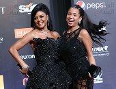 نانسى ابنة رانيا يوسف ترتدى فستان والدتها بالجونة صاحب أزمة مهرجان القاهرة