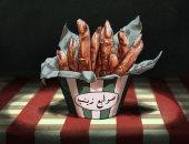 الهالوين بالمصرى.. سلمى حولت أشهر الأكلات والتعبيرات الشعبية للوحات مرعبة