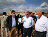 وزير قطاع الأعمال العام يتفقد أعمال إنشاء أكبر مصنع غزل فى العالم