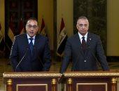 """رئيس النواب العراقى لـ""""مدبولى"""": ليس لنا إلا أن نكون سوياً فى مركب واحد متعاونين"""