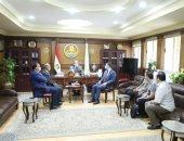 محافظ كفر الشيخ يتابع اللمسات النهائية للمراكز التكنولوجية الجديدة