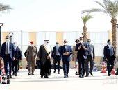 الرئيس السيسى يفتتح 6 مشروعات تنموية على أرض الفيروز
