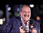 """خالد الصاوى ضيف """"كلمة أخيرة"""" فى أول حوار بعد تكريمه فى مهرجان الجونة"""