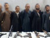 الداخلية تضبط 25 قطعة سلاح بالدقهلية وأسيوط