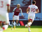 ملخص وأهداف مباراة أستون فيلا ضد ساوثهامبتون فى الدوري الإنجليزي