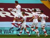 ساوثهامبتون يضرب أستون فيلا 4-3 بالدوري الإنجليزي بحضور تريزيجيه والمحمدى