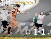 """سبيزيا ضد يوفنتوس.. التعادل يحسم الشوط الأول 1-1 ورونالدو على الدكة """"فيديو"""""""