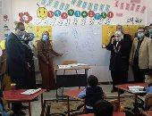 محافظ كفر الشيخ يفتتح 4 مدارس جديدة بـتكلفة 31.7 مليون جنيه ويختبر الطلاب