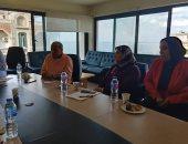 """شعبة """"الأجهزة الكهربائية"""" بالإسكندرية تناقش قانون تراخيص المحال الجديد.. صور"""